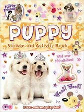 PUPPY STICKER BOOK - PRESS OUT AND PLAY ACTIVITY BOOK 100+ STICKERS