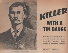 Hendry Brown of Calswell, KS-Killer with a Tin Badge+Garrett,Billy The Kid