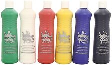 Childrens Paint Artmix 6 x 600ml Painting Bottles Wheat Gluten Free Non-Toxic