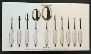 Artis Elite Collection Makeup Brushes   Set of 10 Brushes   Mirror Finish