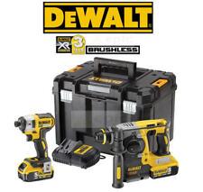 Dewalt 18v Brushless SDS Drill & Impact Driver Kit 2 x 5.0Ah Battery DCK2532P2