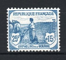 """FRANCE STAMP TIMBRE N° 151 """" ORPHELINS 25c+15c FEMME LABOUR """" NEUF xx LUXE T218"""