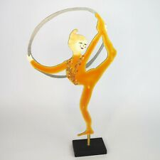 Cirque du Soleil Judie Bomberger Art Sculpture Metal Figure Alegria Signed 1998