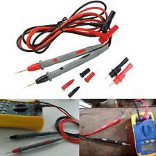 20A Test Lead + Alligator Clips Agilent/Fluke/Ideal Clamp Cable Multimeter df