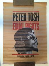Peter Tosh Equal Rights Promo Poster Display Bob Marley & The Wailers Reggae