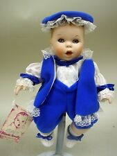 "10"" Porcelain Gerber Baby Boy W/Wrist Tag - All Original - 1983 Atlanta Novelty"