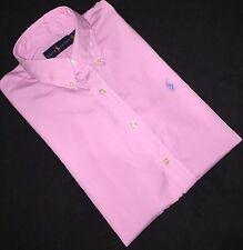 """Ralph Lauren Mens Long Sleeve Formal Shirt Collar Size 15.5"""" Button Down"""