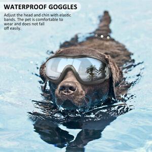 Fashion Pet Dog Doggles Goggles UV Sunglasses Glasses Eye Wear Protection
