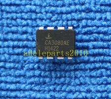 5PCS CA3080AE CA3080 OP Transconductance AMP IC INTERSIL/HARRIS/RCA DIP-8