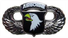 US Army 101st Airborne Screaming Eagles Wings Metal Lapel Hat Pin 1-1/2""