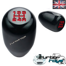 BLACK 5 SPEED BILLET ALUMINIUM GEAR KNOB Fits HONDA CIVIC INTEGRA CRX  M10x1.5