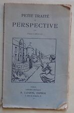 petit traité de perspective - Pierre Lahalle - Editions Laurens