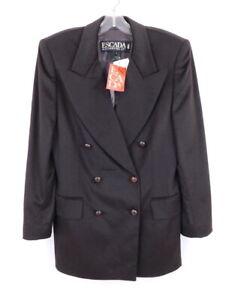 ESCADA 85% Angora 15% Virgin Wool Lux Plush Blazer NWT $1455 38/8
