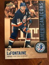 2018 UD National Hockey Card Day America Stars In Stripes #USA-15 Pat LaFontaine
