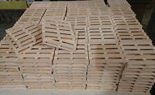 Mini Wood Pallet Coasters Set of 100 Bulk Lot Pinterest Unique Gift Handmade