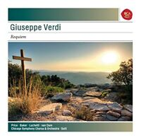 Georg Solti - Verdi: Messa Da Requiem - Sony Classical Masters [CD]