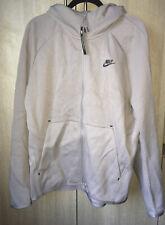 Nike Tech Fleece Windrunner Hoodie Size XL Silver/Grey