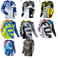 2020 Fox Racing Jersey Shirt Men's Motocross/MX/ATV/BMX/MTB Cycling Bike Tops