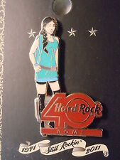 Hard Rock Cafe Rome 40th Anniversary Girl Pin