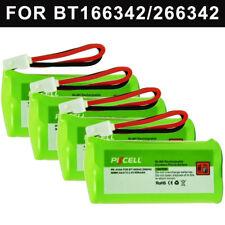 4pcs Phone Battery 800mAh 2.4V for AT&T BT166342 BT266342 CL80100 VTech BT162342