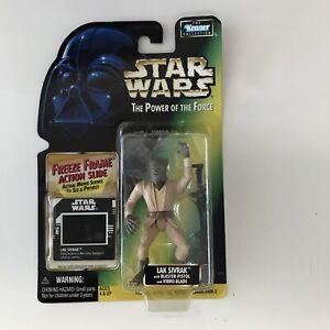 Star Wars Power of the Force Lak Sivrak Kenner 1997 Freeze Frame Action Figure