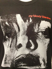 MY BLOODY VALENTINE FEED ME WITH YOUR KISS BLACK SHIRT ALL SIZES