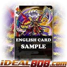 """Buddyfight x 4 Demon Lord, Gagnar """"Second Form: Iron Hand"""" [X-BT03A-UB01/0041EN"""