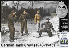 1/35 Master Box 3507 German Tank Crew 43-45 Winter 4 Figure Plastic Model Kit