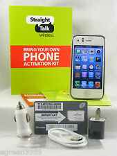 Apple iPhone 3G 8GB White (Factory Unlocked for use on GSM Straight talk & MORE)