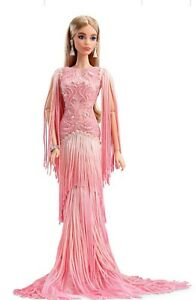 Blush Fringed Gown Barbie Platinum Label BFC Collection NRFB