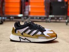 Adidas Tresc Run Boost Mens Running Shoes Gold Black White (EG5661) NEW Multi Sz