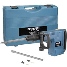 1500w Sds Max Electric Rotary Hammer With Chisel Point And Flat With Carrying Case