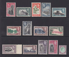 Ceylon. 1938-49. SG 386-397a, 2c to 5R. Unmounted mint.