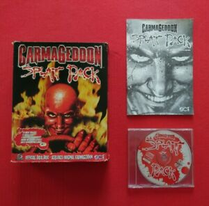Carmageddon Splat Pack Expansion Pack PC Big Box Complete With Manual