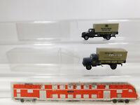 CK815-0,5# 2x Brekina H0/1:87 LKW Magirus DB: Collico + Rollfuhrdienst, NEUW