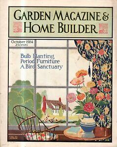 1924 Garden & Home Builder October - Glen Cove, Saint Paul and Haverford houses