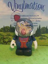 "DISNEY VINYLMATION Theme Park - 3""  Villains Set 3 Ratagan Great Mouse Detective"