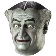 Adult Deluxe The Munsters Grandpa Fancy Dress Party Halloween Costume Latex Mask