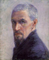 Gustave Caillebotte Self-Portrait Impressionist French Male Painter Oil Painting