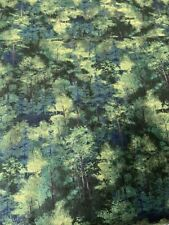 New Adventure Forest Green Trees Coordinating cotton Fabric per yd. Wilmington