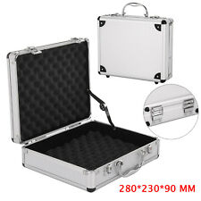 Aluminium  CAMERA CASE Case Hard Flight Case Tool Foam Portable Secure CARRY Box