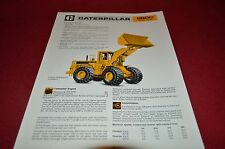 Caterpillar 980C Wheel Loader Dealer's Brochure DCPA4