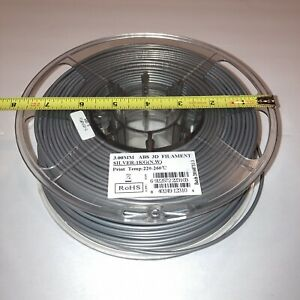 ESun 2.85mm Silver ABS Filament Missing 9oz from Low Humidity State