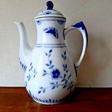 Old 1915 - 1948 BUTTERFLY Coffee Pot Bing & Grondahl, Royal Copenhagen Fact 1