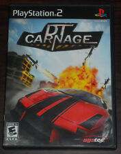 Sony PS2. Playstation 2. DT Carnage. (NTSC USA/CAN)