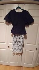 New Skirt Karl Lagerfeld  Lace Size 8