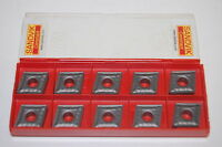 (10) NIB Sandvik Coromant CNMG 432-QM 5015 Carbide Inserts CNMG 12 04 08-QM 5015