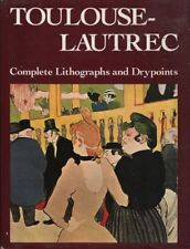 """JEAN ADHEMAR - """"TOULOUSE LAUTREC, COMPLETE LITHOGRAPHS & DRYPOINT"""" - HB/DW(1987)"""