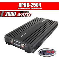 Audiopipe 4 Channel Mosfet Power Amplifier 2000 W Car Amplifier ( APNK-2504 )