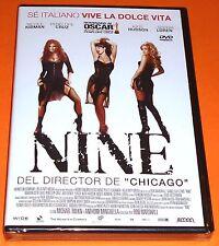 NINE - Rob Marshall 2009 - English español DVD R2 - Precintada